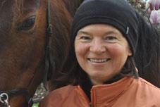 Photo der Pferdetherapeutin Claudia Götz